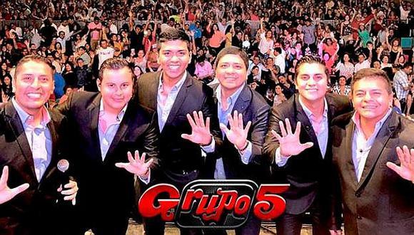 Grupo 5 anuncia su concierto virtual para celebrar Año Nuevo. (Foto: @elgrupo5oficial)