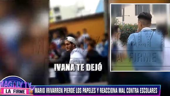 Escolar que se enfrentó a Mario Irivarren revela presuntas agresiones│VIDEO