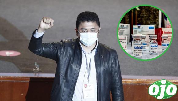 """Guillermo Bermejo exige la """"vacuna cubana"""". Foto: (GEC   redes sociales)."""