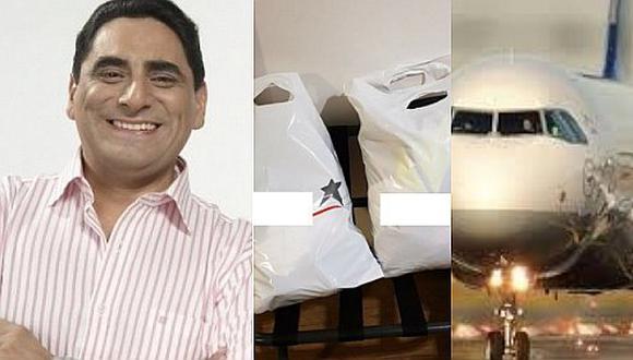Carlos Álvarez denuncia maltrato de reconocida aerolínea (FOTOS)