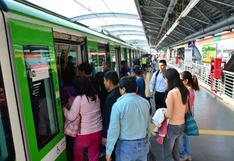 Línea 1 del Metro de Lima circulará desde las 5 a.m. este jueves ante suspensión de los corredores viales