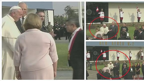 Papa Francisco bendijo sobre que llevó Luis Galarreta a la base aérea N° 8