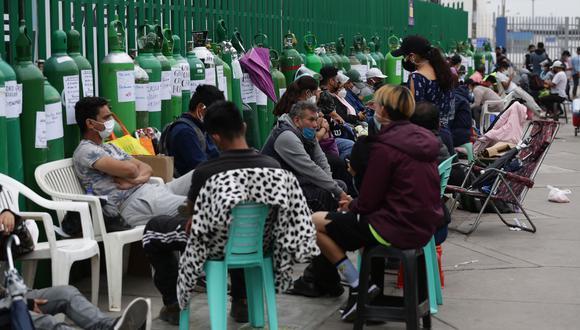 La cantidad de pacientes fallecidos y de nuevos casos de COVID-19 aumentó este domingo. (Fotos: Fernando Sangama / @photo.gec)
