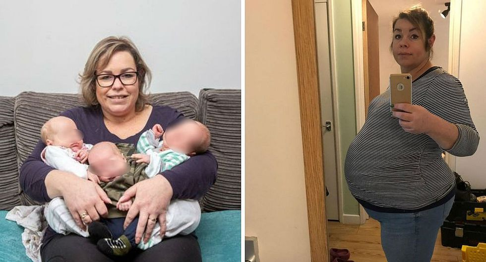 El extraño caso de una mujer que salió embarazada estando ya embarazada