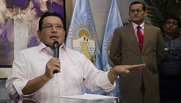 Félix Moreno jura no haber recibido ni un sol de Odebrecht y mucho menos...