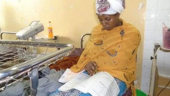 Mujer da exámenes finales 30 minutos después de dar a luz | FOTOS