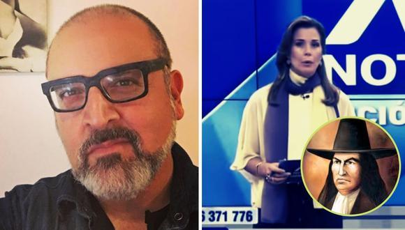 """Beto Ortiz da con palo a Drusila Zileri por decir: """"Túpac Amaru fue este indio que fue desmembrado"""""""