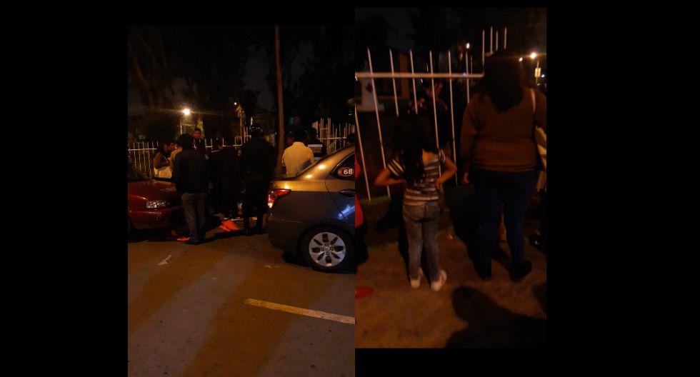 Niña de diez años queda atrapada en reja  de parque en Arequipa