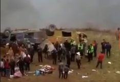 La Libertad: al menos 10 muertos deja caída de bus a abismo de 300 metros en Otuzco