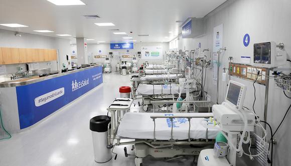 Junín: Diresa indica que 24 pacientes permanecen a la espera de una cama UCI (Foto referencial: EsSalud)