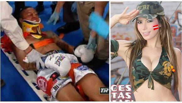 ¿Jonathan Maicelo quedó 'cansado' antes de pelea por culpa de Milena Zárate?
