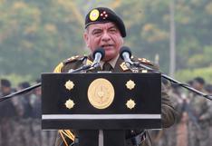 Dan por concluido nombramiento del General Astudillo como Jefe del Comando Conjunto FF.AA.