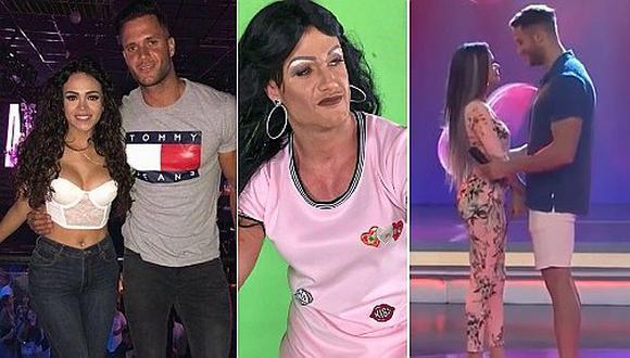 Fabio Agostini y su divertida imitación de Mayra Goñi (FOTOS Y VIDEO)