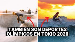 ¿En qué consiste cada uno de los nuevos cinco deportes olímpicos incluidos en Tokio 2020?