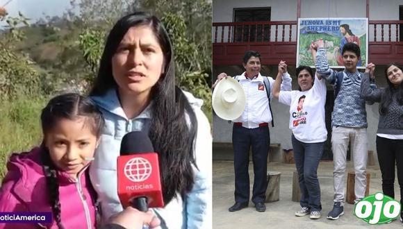 """Hijastra de Pedro Castillo le envían emotivo mensaje: """"le dije que trabaje por la juventud"""""""