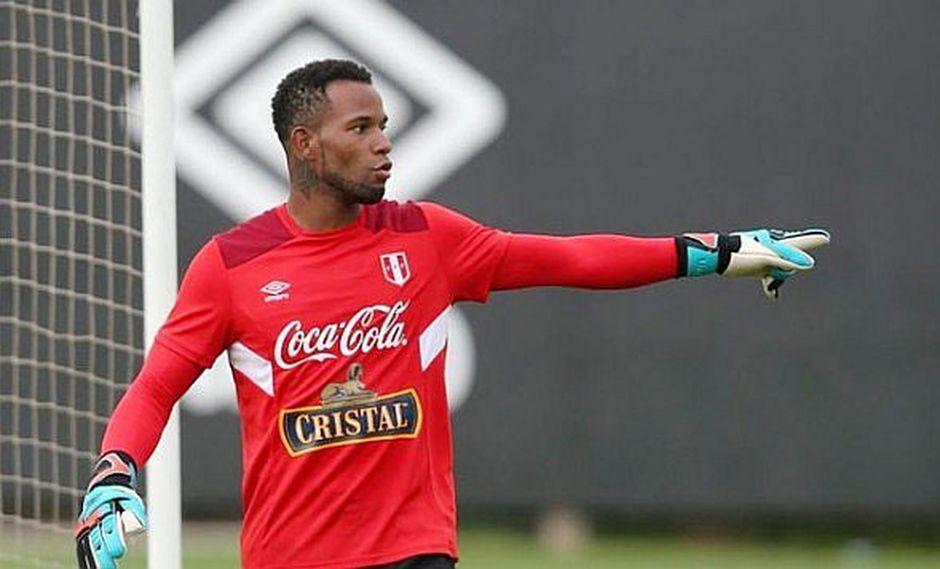 Arquero Carlos Cáceda firma con un equipo peruano y disputará la Libertadores