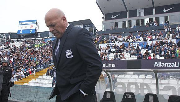Alianza Lima busca nuevo entrenador y ya no quiere a Mosquera