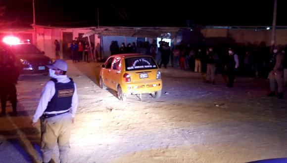Piura: Sujetos llegan en moto y asesinan a hombre dentro de su vehículo (Foto: Facebook   Tondero Noticias)