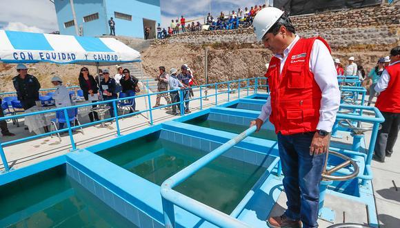 MVCS y OTASS buscan optimizar cinco plantas de agua potable en favor de 169,000 familias.