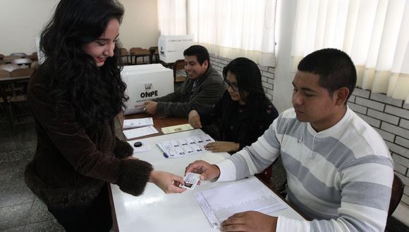 Las Elecciones Congresales Extraordinarias 2020 se llevarán a cabo el próximo 26 de enero. (Foto: Andina)
