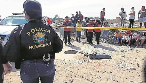 Lambayeque: el cuerpo de la pequeña fue trasladado a la Morgue de Chiclayo para determinar las causas de su muerte. (Foto: GEC)