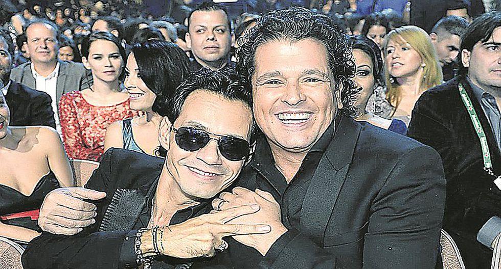 Marc Anthony y Carlos Vives vuelven al Perú con espectacular concierto