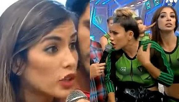 """Korina Rivadeneira a Diana Sánchez: """"Si mi contrato es tres días a la semana, yo no tengo la culpa"""""""