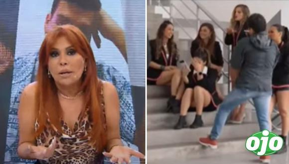 Magaly Medina critica EEG. Fotos: (Captura ATV - América TV)