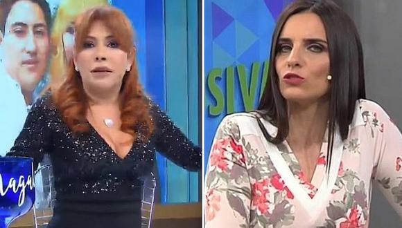 """Laura Borlini aclara a Magaly Medina: """"no soy reemplazo de nadie"""""""