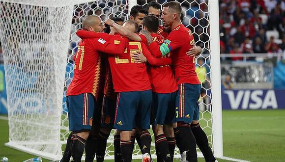 España pasa a octavos como primera de su grupo y enfrentará a Rusia