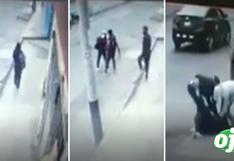 Joven enfermera es asaltada y brutalmente golpeada por un grupo de delincuentes en Comas