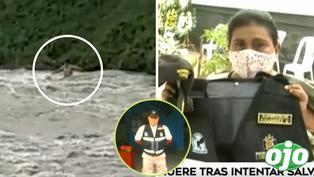 Sereno 'héroe' murió tras intentar salvar a dos personas que fueron arrastradas por el río Rímac