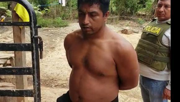 Samuel Rojas, quien fue capturado en julio de 2019, cumplía prisión preventiva en el penal de Puerto Maldonado. (Foto: GEC)