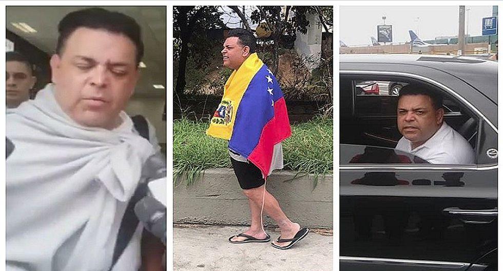 Andrés Hurtado 'Chibolín': de esta manera pisó suelo limeño tras ser detenido en Venezuela