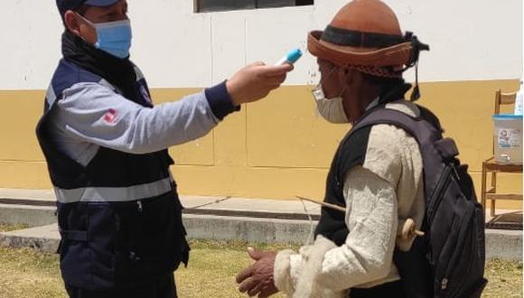 Apurímac: detectan a 52 adultos mayores con COVID-19 durante operación Tayta (Foto: Gore Apurímac),