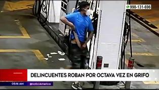 Ladrones asaltaron grifo por octava vez en Comas