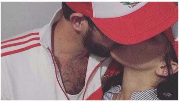 Conocida actriz celebró clasificación de la selección peruana a Rusia 2018 con tierno beso en redes (FOTO)