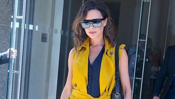 ¡El estilo working girl de Victoria Beckham que querrás usar así no seas una empresaria como ella! [FOTOS]