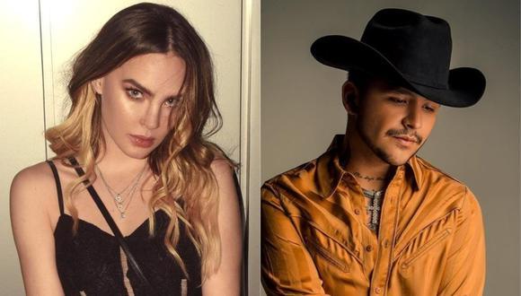 Belinda y Christian Nodal son novios. (Foto: Captura Instagram)