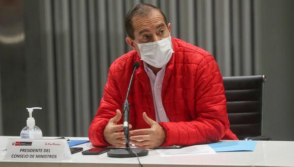 En diálogo con el programa 'Cara a Cara' de TV Perú, Martos detalló que en estas últimas cuatro semanas hay un descenso considerable de las cifras de contagios, muertes y hospitalizados a causa de esta enfermedad. (Foto: PCM)