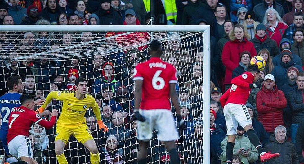 Manchester United remonta y vence 2-1 al Chelsea en Old Trafford (FOTOS)