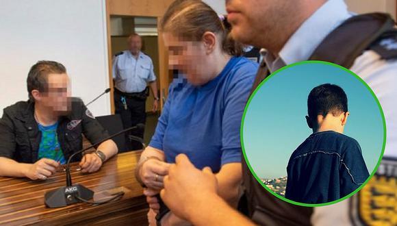 Padres que prostituyeron a su propio hijito de 10 años son condenados