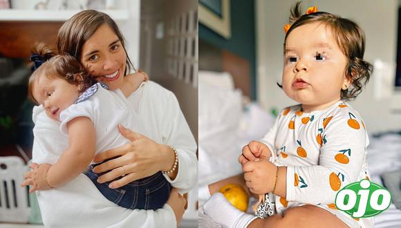 Korina Rivadeneira contó que la pequeña Lara se enfermó. Foto: Instagram Korina Rivadeneira