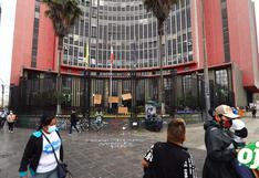 Inti Sotelo y Bryan Pintado: desconocidos nuevamente destruyen memorial tras dos meses de sus muertes en Gran Marcha Nacional