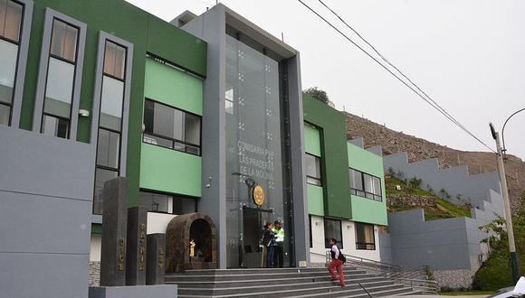 El detenido fue trasladado a la comisaría de Las Praderas. (Foto referencial: Municipalidad de La Molina)
