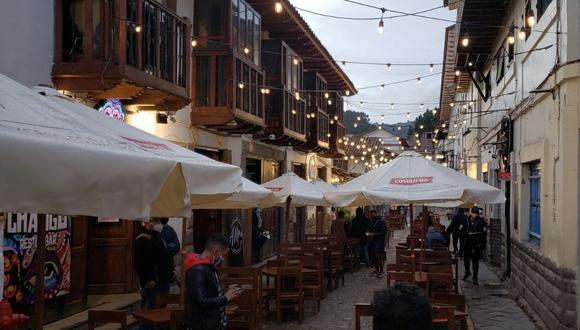 Estas terrazas gastronómicas instaladas ofrecen el plan ideal para disfrutar de la diversidad culinaria. (Foto: Terrazas Cusco)