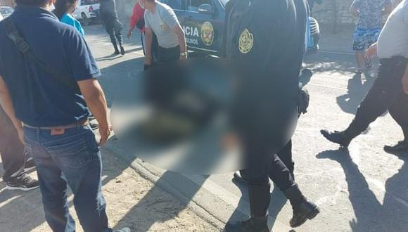 Ica: choque entre dos motocicletas deja un policía muerto y a otro gravemente herido (Foto difusión)