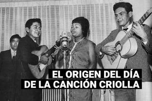 ¿Desde cuándo se celebra el Día de la Canción Criolla?