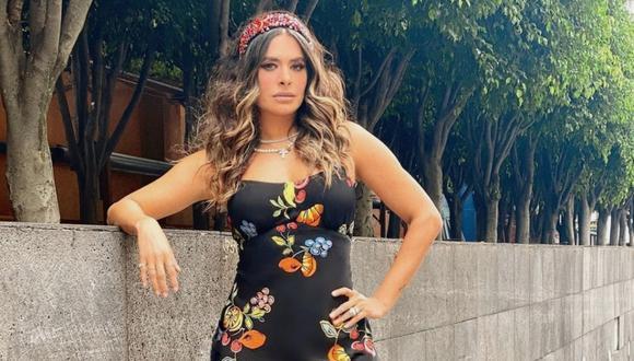 """Galilea Montijo, conductora del programa """"Hoy"""", dio positivo a coronavirus por segunda vez. (Foto: @Captura Televisa/@galileamontijo)"""