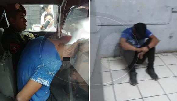 Joven de 16 años acosa a niña de 11 en el colegio y padres de familia lo capturan (FOTOS)